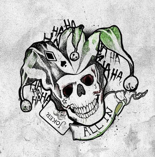 The Joker by Jared Leto. #inked #inkedmag #tattoo #joker #jared #leto #art #flash