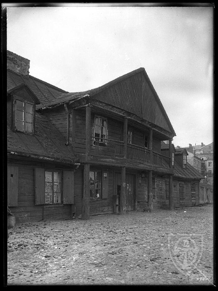 Wołowa 37, Warszawa - 1907 rok, stare zdjęcia