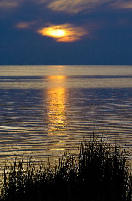 "tinnacriss: ""Hatteras Island Sunset (by Hatteras Island Vacations) """
