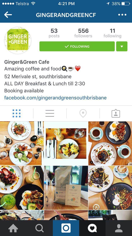 Ginger & green South Brisbane