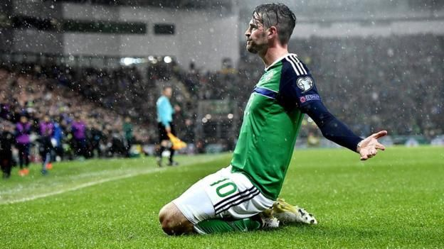 Northern Ireland's Kyle Lafferty is returning to Scottish football with Hearts Northern Ireland forward Kyle Lafferty has joined Hearts on a two-year deal, subject to a medical. Lafferty, 29, was a free agent after leaving Norwich City and has previously played for Burnley, Rangers, Sion...