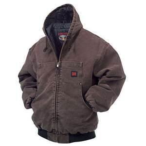 #ToughDuck Washed Hooded Bomber #Jacket @TheToolStore.ca