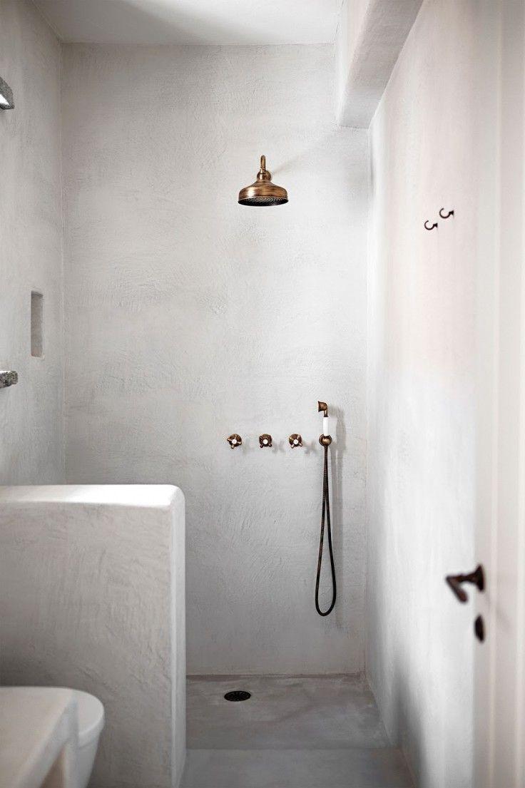 15 idées pour salle de bains tadelakt | Salle de bain | Bathroom ...