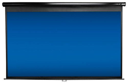 Elite Screens - Pull-Down Projector Screen - Black