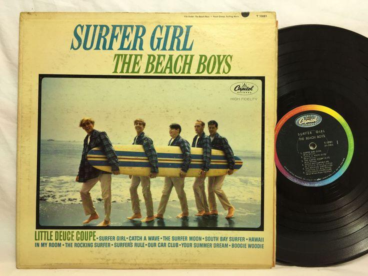 Beach Boys Surfer Girl Capitol Rainbow MONO  T-1981 Original Vinyl Record LP