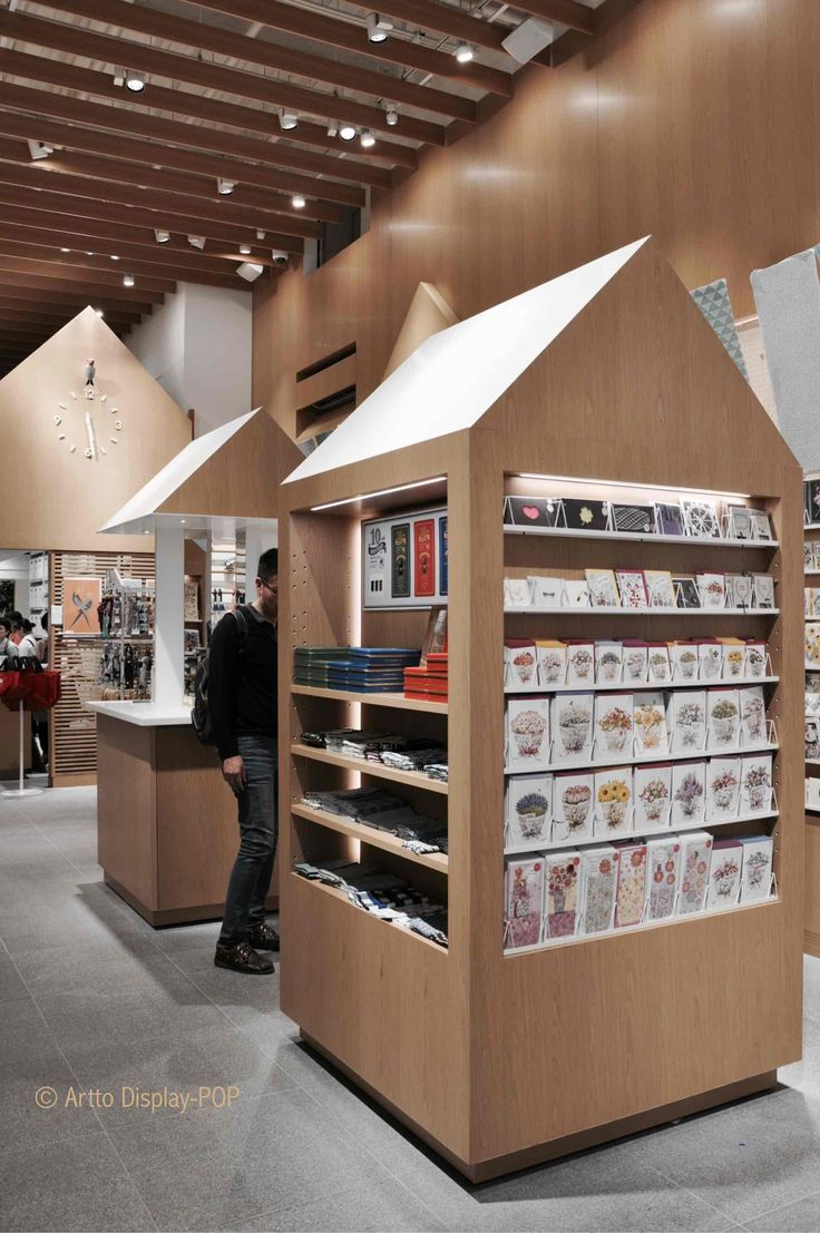 Itoya stationery store. Point of purchase display