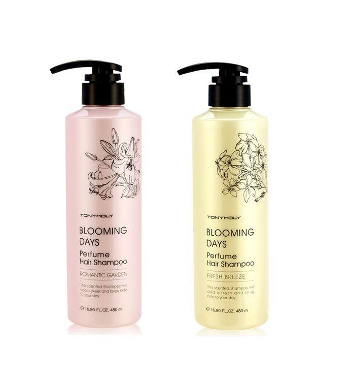 TONYMOLY Blooming Days Perfume Hair Shampoo 480ml korean cosmetic skincare product online shop malaysia china japan