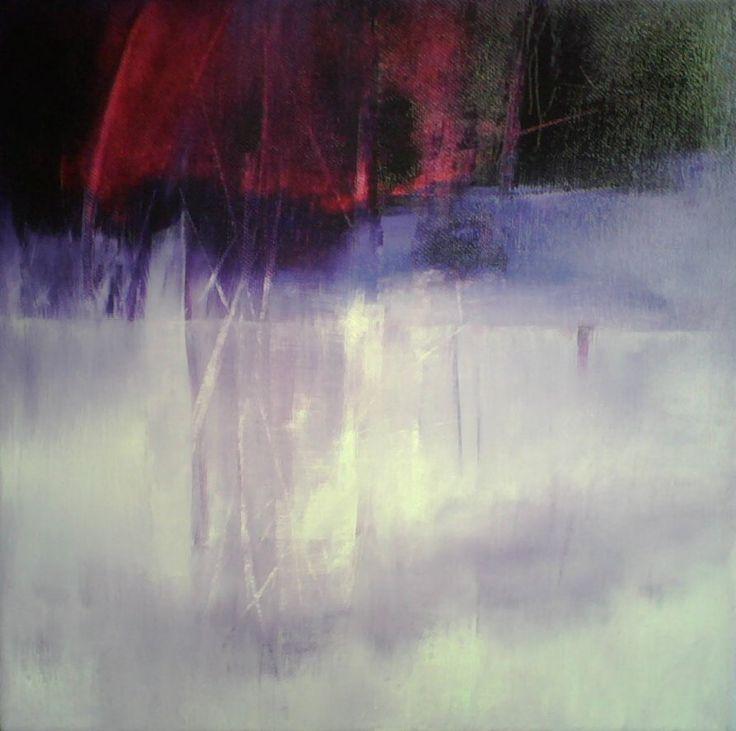 """""""Bosco fucsia"""", oil on canvas by Patrizia Biaducci"""