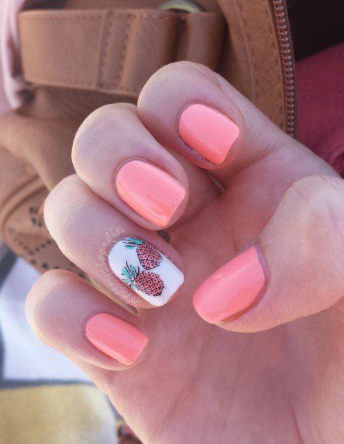 pineapple nails - Buscar con Google | accessories | Pinterest