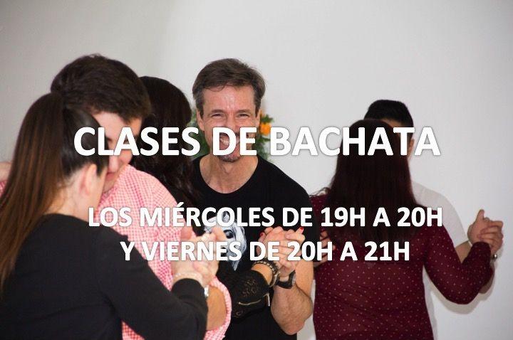 Clases de Bachata los miércoles y los viernes.  Salsa Madrid Centro