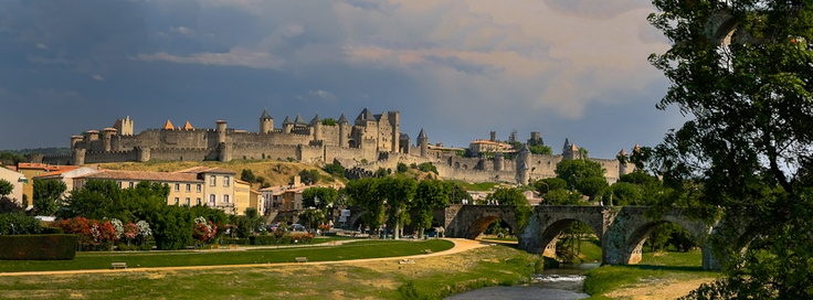 Carcassonne, France  - If you use this image, please post a link to your Facebook page in the comments and/or Like my page at www.facebook.com/pixntxt - You can check out my reasons for releasing these covers under Creative Commons at my blog: http://blog.pixntxt.com/2012/10/01/what-would-trey-ratcliff-do-post-free-facebook-timeline-images-thats-what/