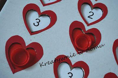12 Sekretów: Z głębi serca... memory DIY | Kreatywnie w domu