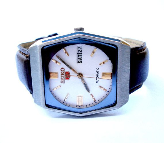 Vintage Reloj SEIKO 5 Automatico Mod. 6949A Day & por shopvintage1