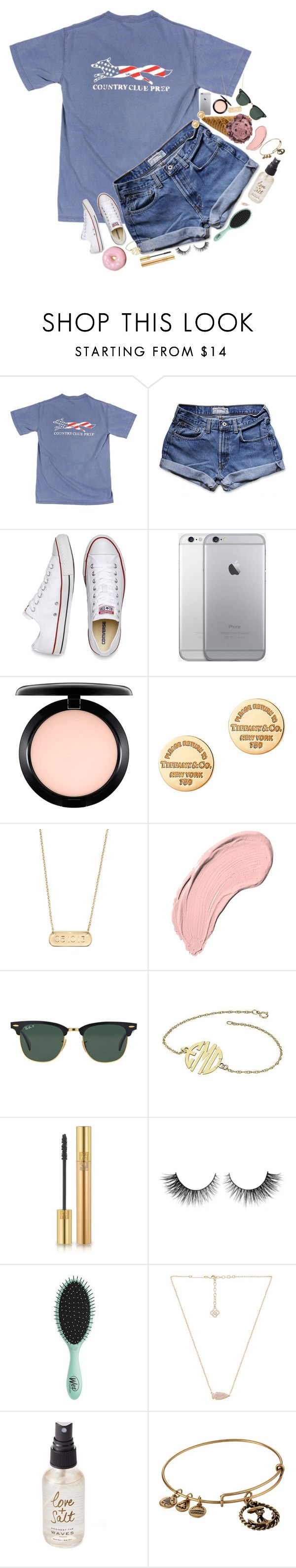 """""""Please go get Kendall michele to 200 followers!! She's really close!"""" by erinlmarkel ❤ liked on Polyvore featuring Abercrombie & Fitch, Converse, MAC Cosmetics, Tiffany & Co., Stella & Dot, NYX, Ray-Ban, Yves Saint Laurent, Rimini and Topshop"""
