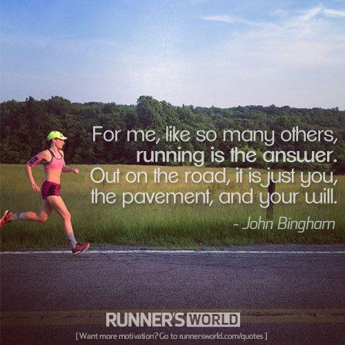 Running is the Answer | Runner's World