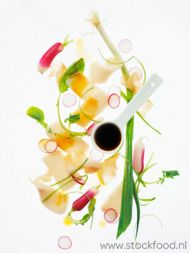 Recept: Japanse radijssalade met rauwe vis - Sante.nl