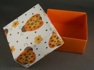 DIY Cardstock Boxes - minimal tape runner (unless it is sparkly or matted, then recommend double sided sticky)