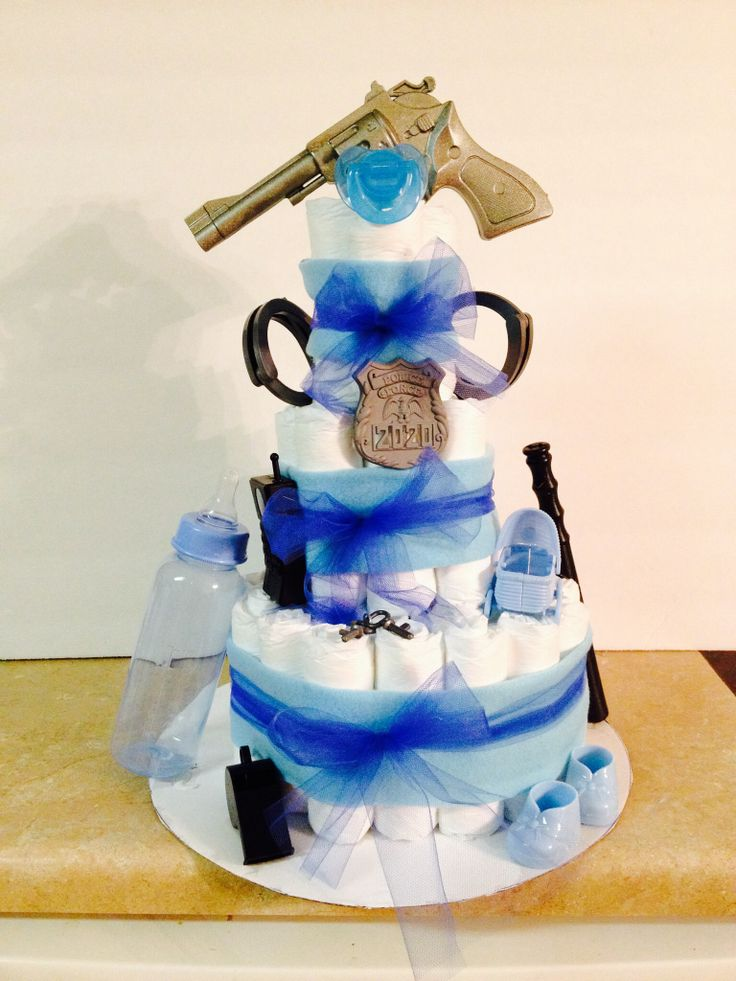 22 Best Images About Police Baby Shower On Pinterest