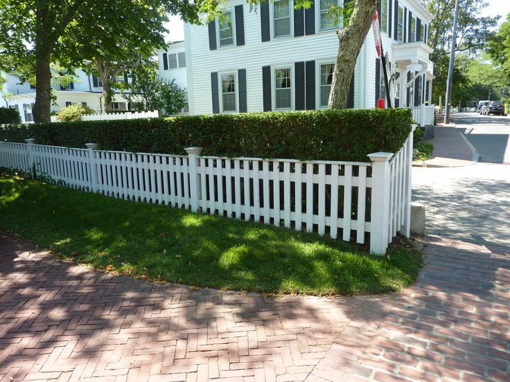 Perfect Edgartown Fence And Hedge Landscaping