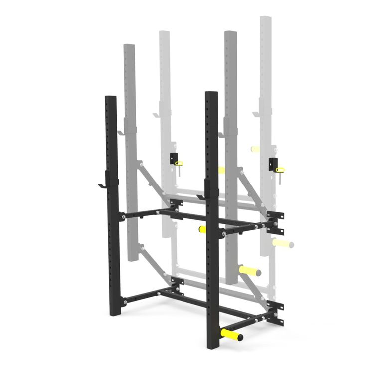 Again faster wall mounted folding power racks