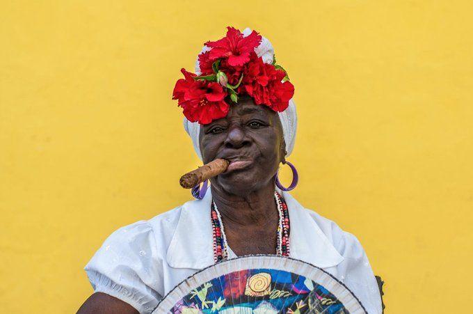 Retrato: Torcedora de Cuba, por Christian Celedon