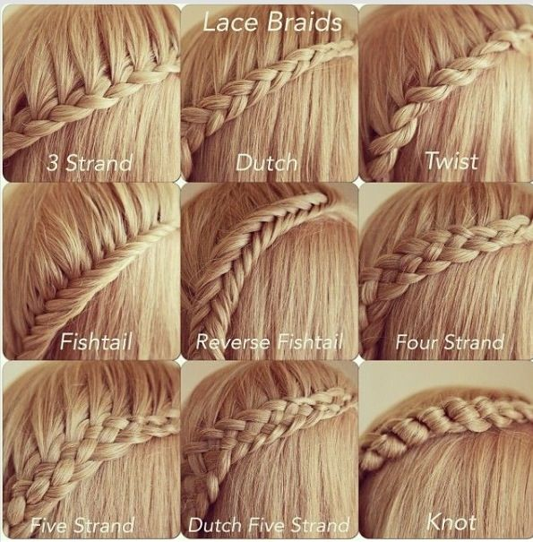 All different types of braids :) love them all! - Hairstyles ...