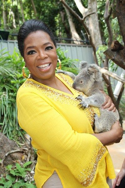 Oprah goes to Australia
