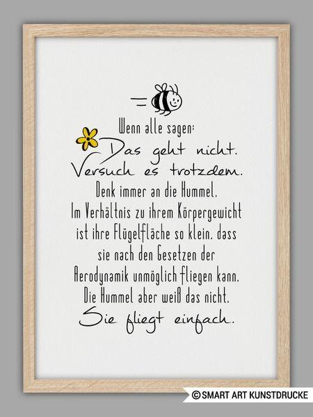 """""""GEHT NICHT GIBT´S NICHT!"""" Kunstdruck von Smart-Art Kunstdrucke auf DaWanda.com"""