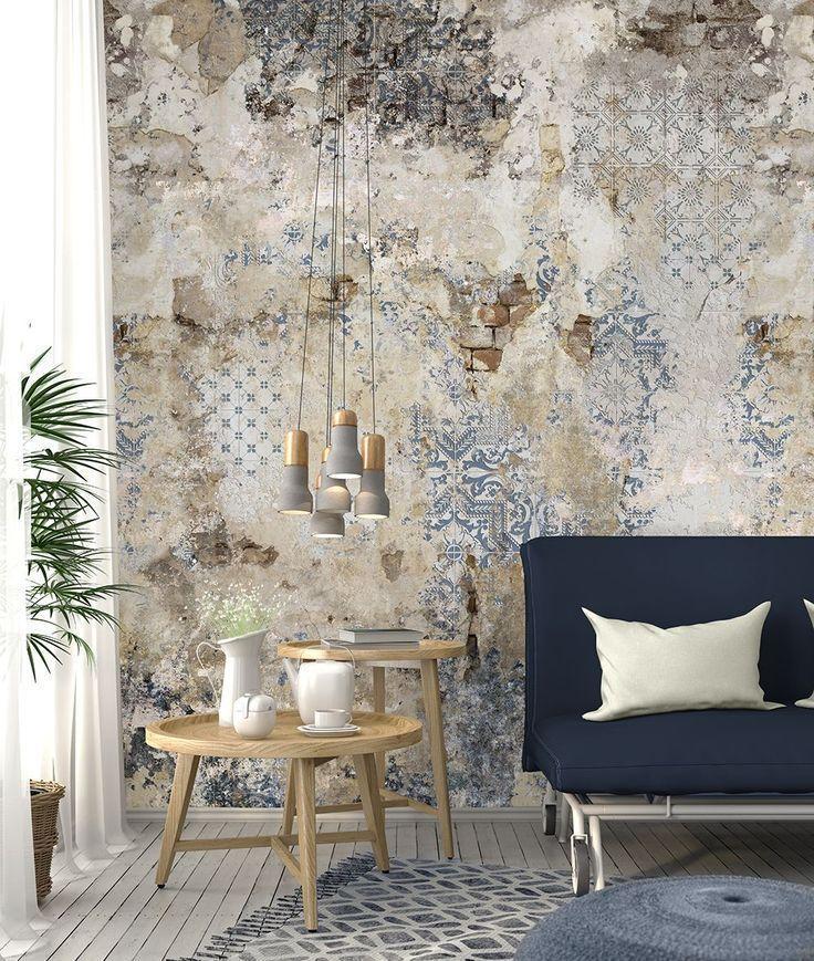 Vliestapete Kintsugi Optik Beige Grau Rose Gold Metallic In 2020 Vergoldete Wande Fliesen Tapete Wand Dekor