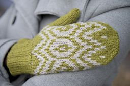 Ravelry: Meadow Frost Mittens pattern by Faye Perriam