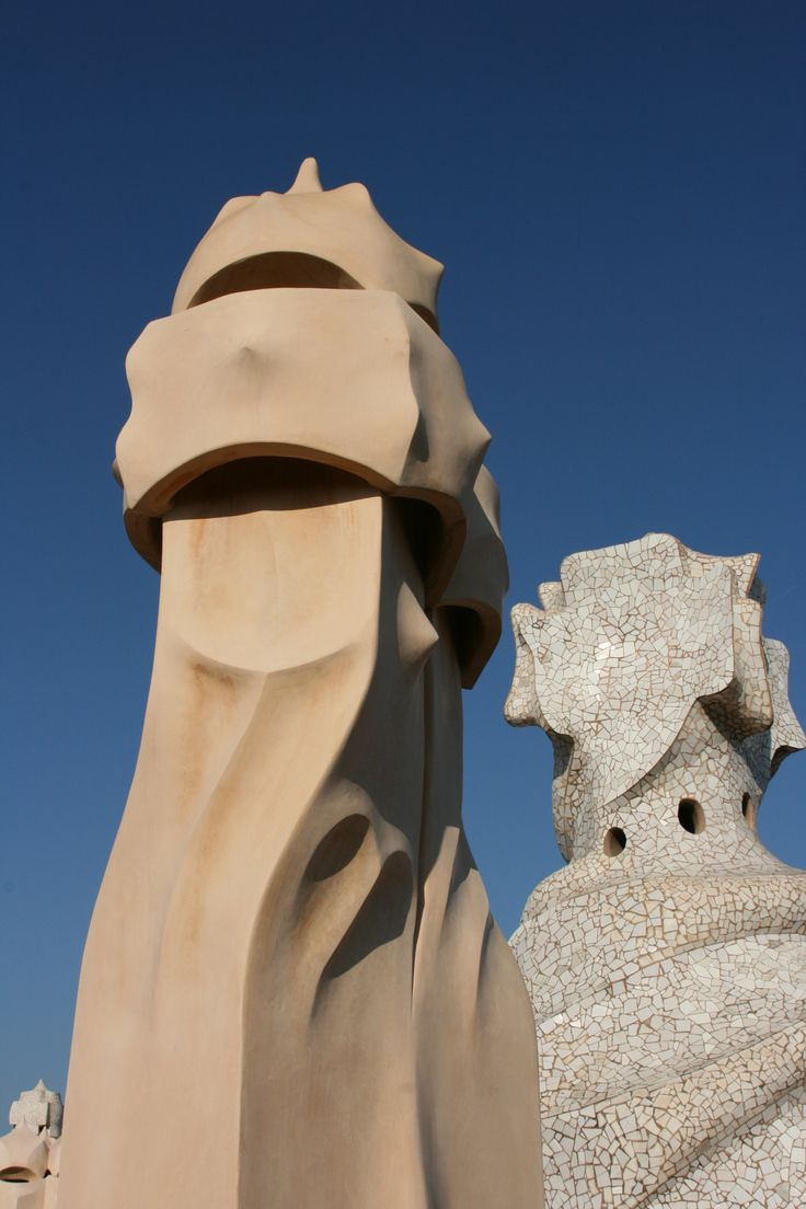 Rooftop Casa Mila Barcelona, Gaudi, all rights by Photographicdesign, for xcommercial use please contact me