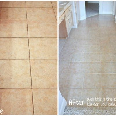 How To Clean Tile Grout Without Chemicals Ideas For The