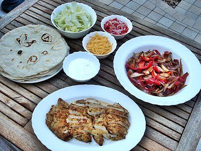Csirke fajitas házilag – az egyik legfinomabb Tex-Mex!