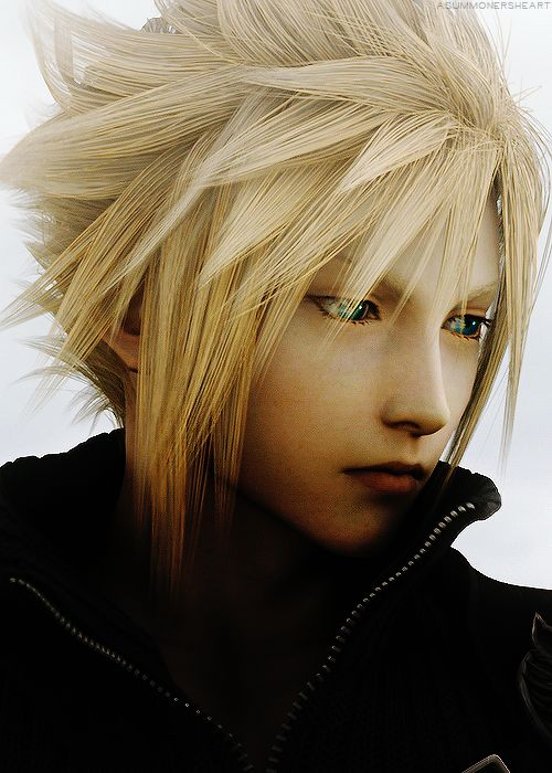 Cloud Strife <3 I love him so much