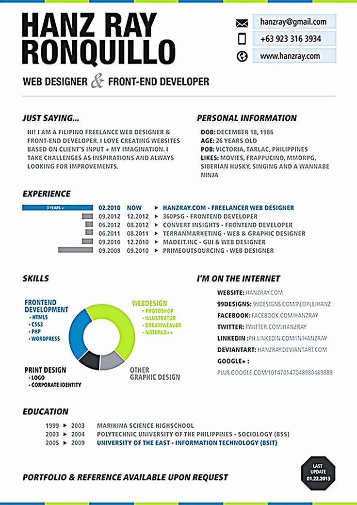 Pin On Example Web Designer Resume Sample
