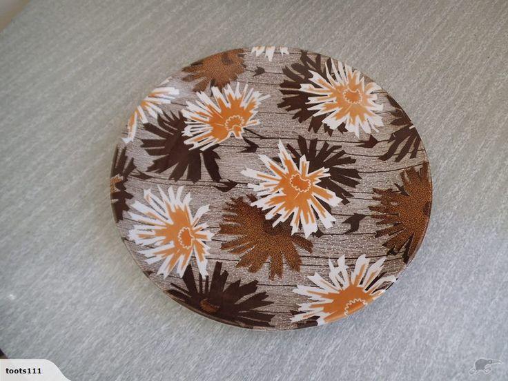 * Rare Crown Lynn Dinner Plate - Melody Pattern * | Trade Me  $22.22 Oct 2015