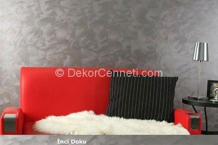 Trend sedefli duvar boyası Modelleri