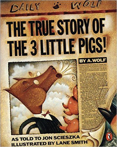 The True Story of the Three Little Pigs - use to explore mass (how much sugar would a cup hold? etc)