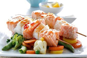 Oven Grilled Salmon