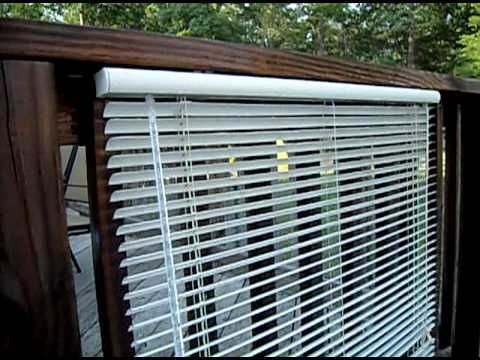 The Redneck Way To Clean Vinyl Blinds... So Amazing even Billy Mays would be amazed - YouTube