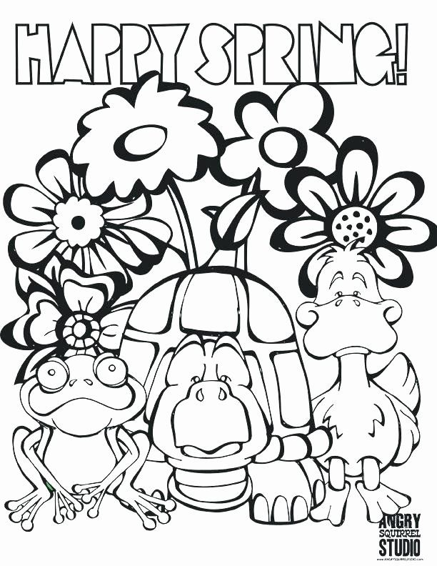 Free Spring Coloring Pages for Adults - The Country Chic Cottage | 792x612