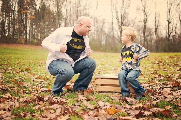 super-hero. father/son