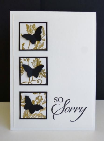 FS371 ~ So Sorry by sistersandie - Cards and Paper Crafts at Splitcoaststampers