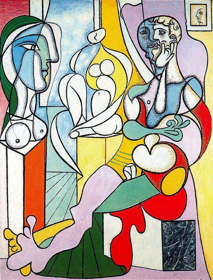 The sculptor, 1931, Pablo Picasso