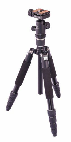 Giottos VGR9265-M2N VGR Classic 5-Section Aluminum Tripod/Monopod with Ballhead and ARCA Quick Release Plate ** Check out the image by visiting the link.