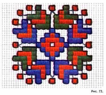 Вышивальная геометрия - ЯМ  Техники счётной вышивки,много...