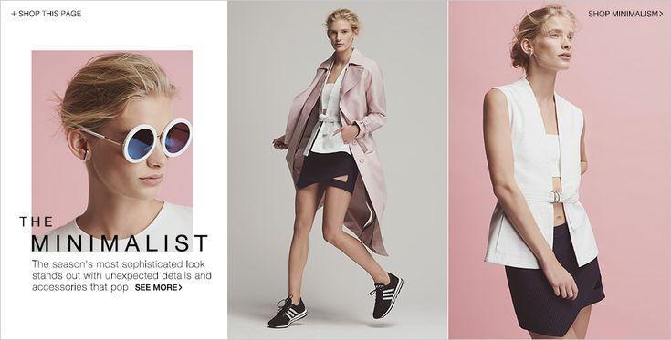 Minimalist Women's Fashion Trend Lookbook | SHOPBOP
