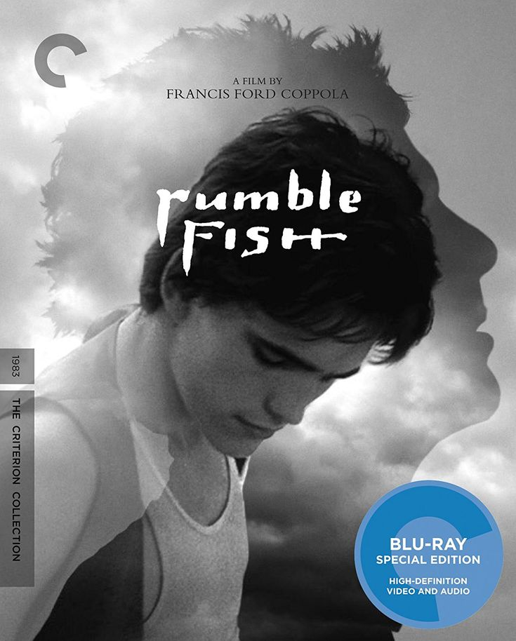 Rumble Fish - Blu-Ray (Criterion Region A) Release Date: April 25, 2017 (Amazon U.S.)