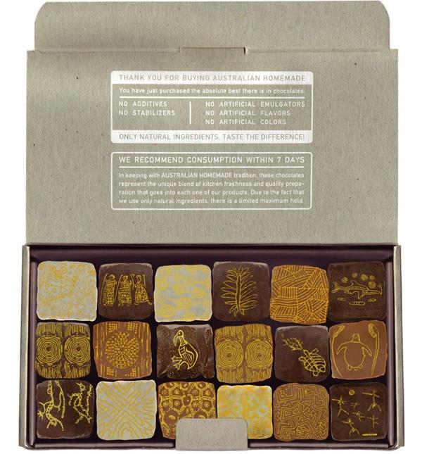 boy bastiaens | australian homemade | chocolate packaging (open)