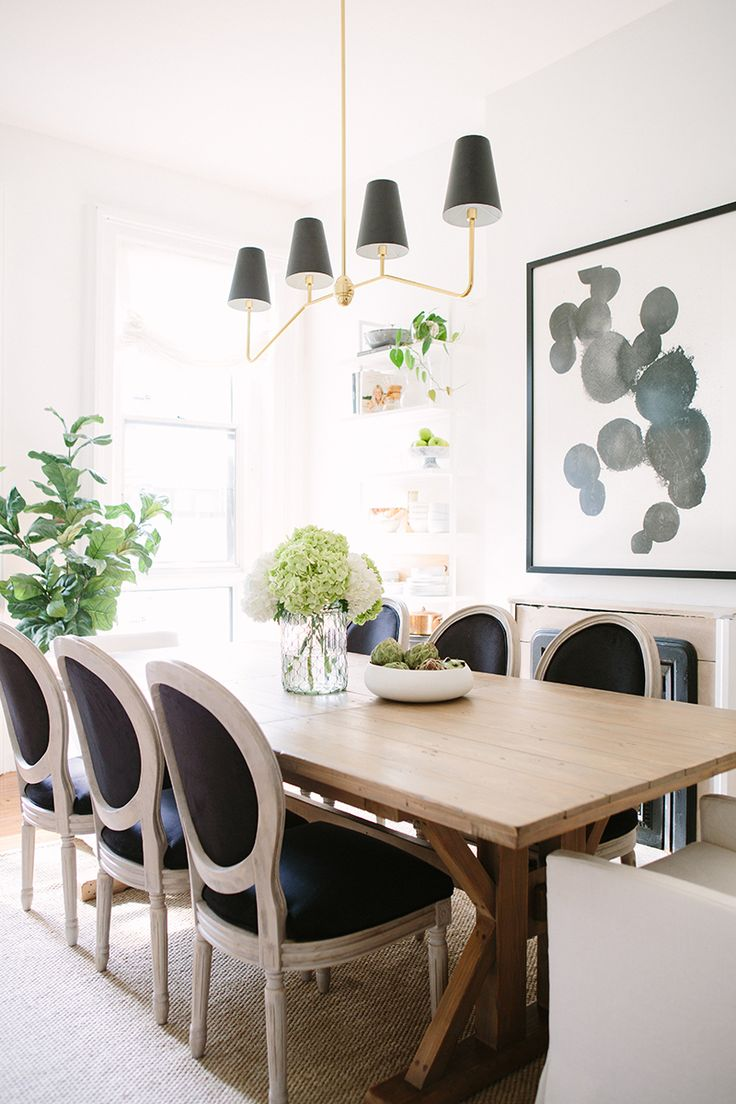 Baker dining chairs archives simplified bee - The Everygirl Cofounder Alaina Kaczmarski S Greystone Home Tour
